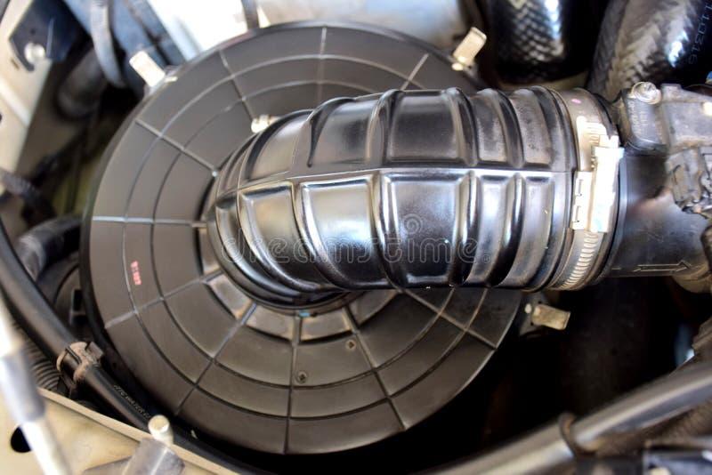 Bon filtre à air le système de combustion du moteur diesel image libre de droits