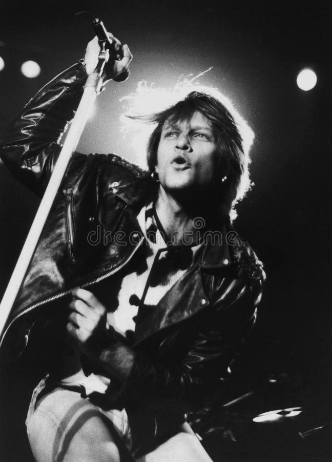 Bon Jovi - απόδοση στο Centrum στο Worcester, μΑ 1994 από το Eric Λ Φωτογραφία Johnson στοκ φωτογραφίες