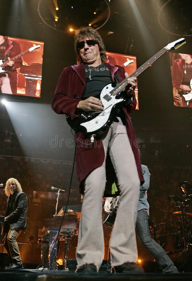 Bon Jovi exécute de concert photos libres de droits