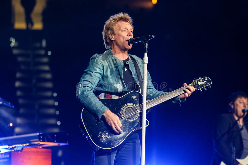 Download Bon Jovi Live In Concert Editorial Stock Photo - Image: 35076468