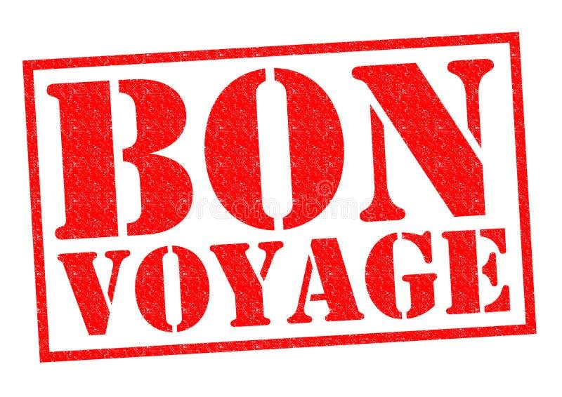 Bon Voyage ilustração stock