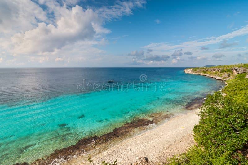 Bonaire coastline stock images