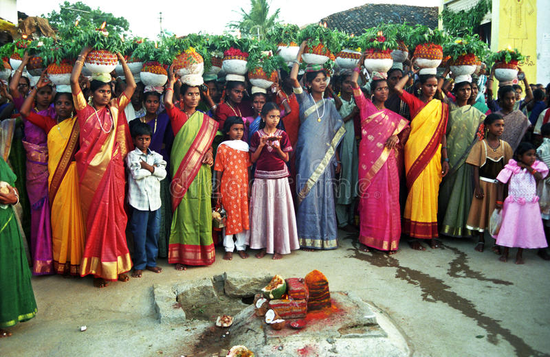 BONALU_ THE FESTIVAL OF MOTHER CULT Editorial Image
