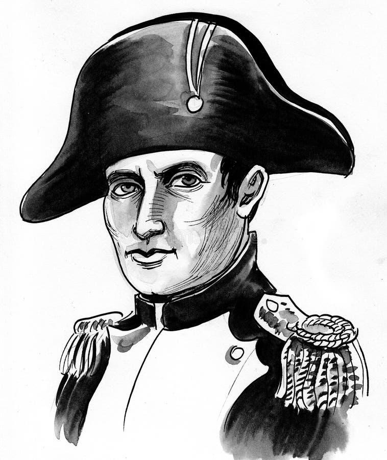 Bonaparte Наполеон иллюстрация вектора