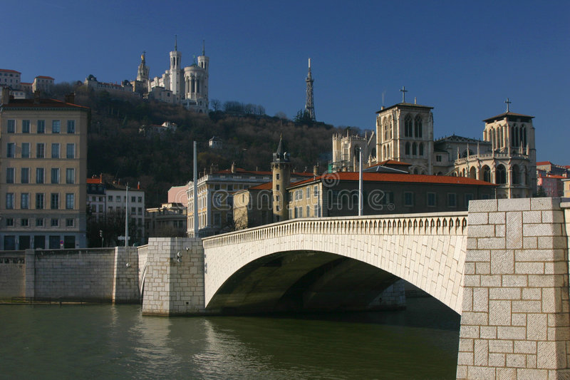 Bonaparte Brücke lizenzfreies stockfoto