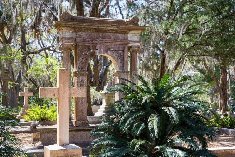 Bonaventure Cemetery historique image stock