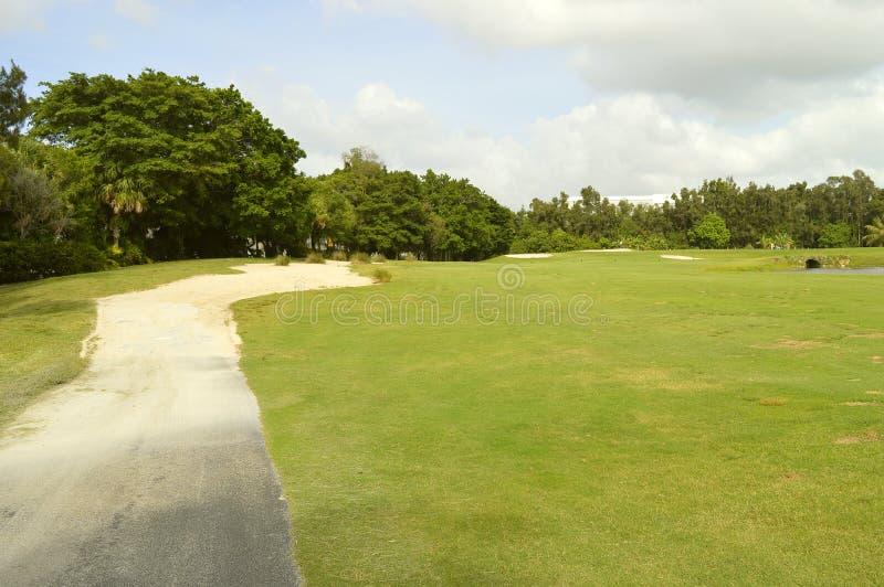Bonaventure County Club-Golfplatz lizenzfreie stockfotos