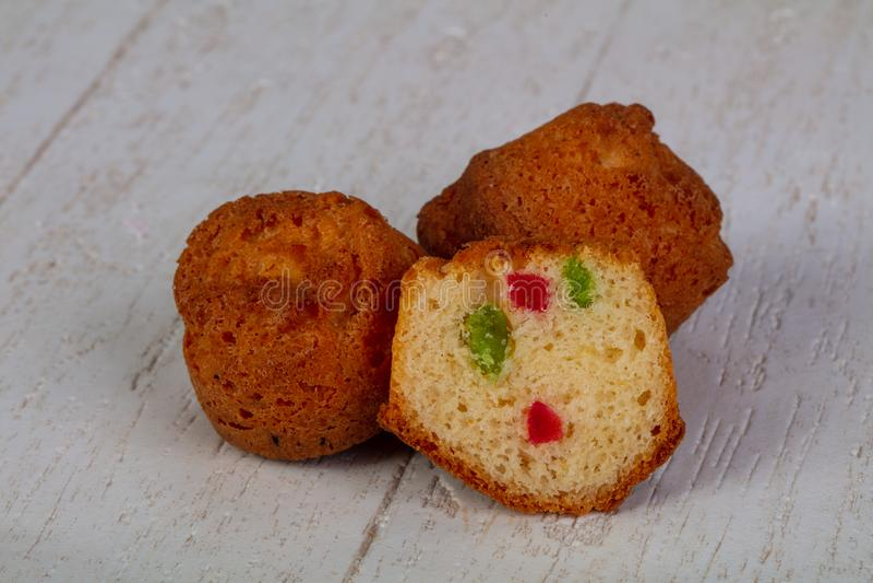 Bonbon gebackene Muffins lizenzfreie stockfotografie