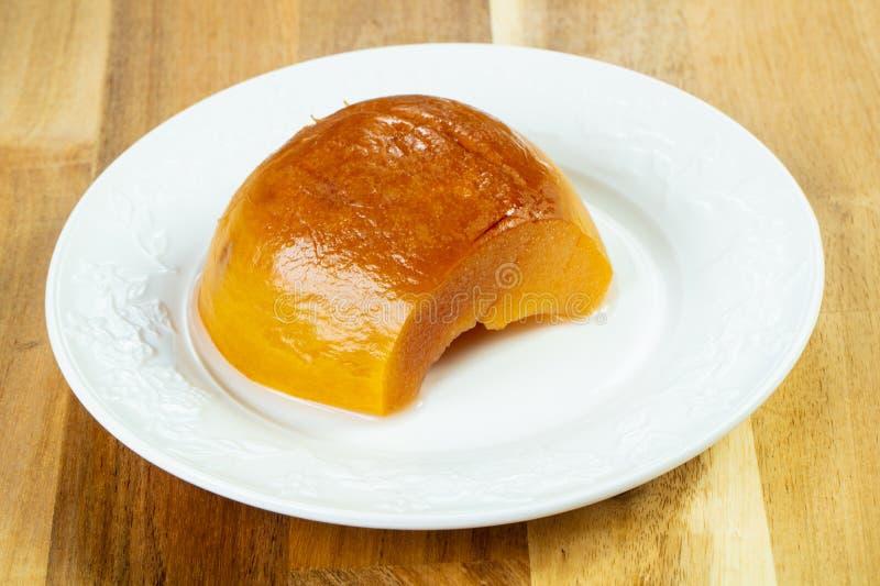 Bonbon gebackene Quitte lizenzfreies stockfoto