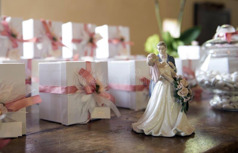Bonbonniere свадьбы стоковые изображения