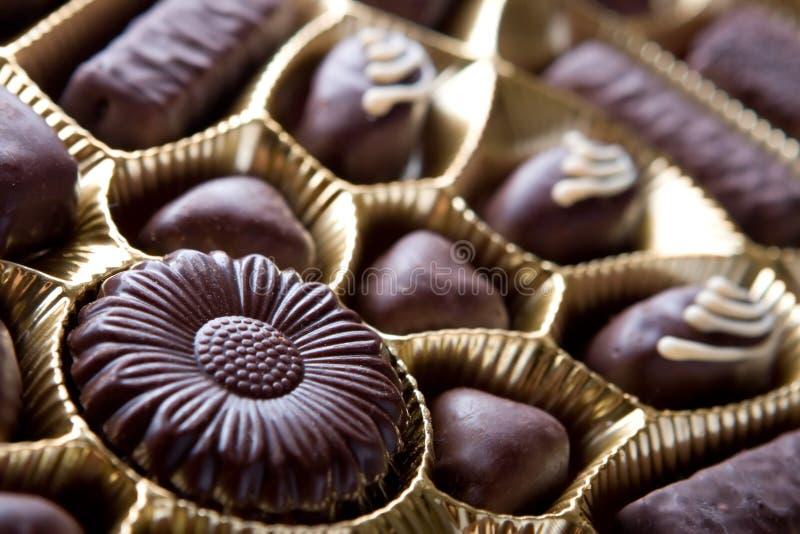 Bonbons à chocolat image stock
