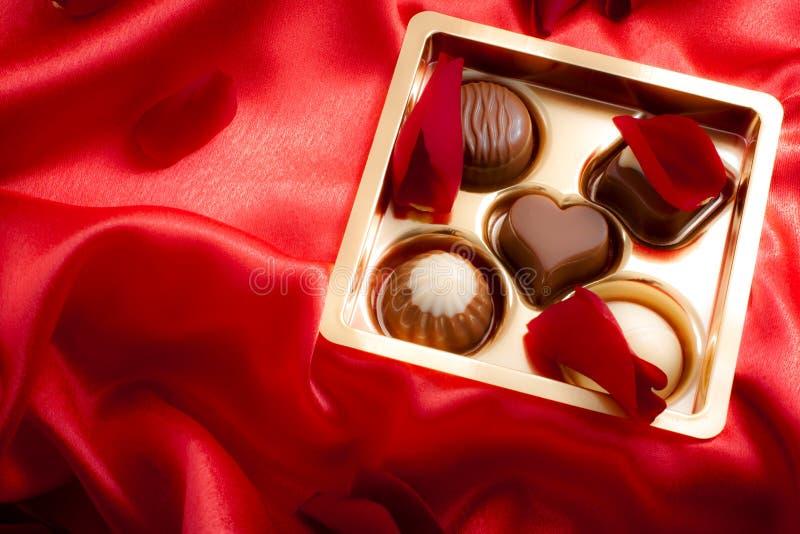 Bonbons à luxe de Saint Valentin de saint photos stock