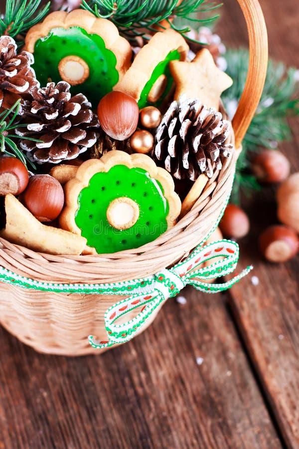 Bonbons à Noël photo stock