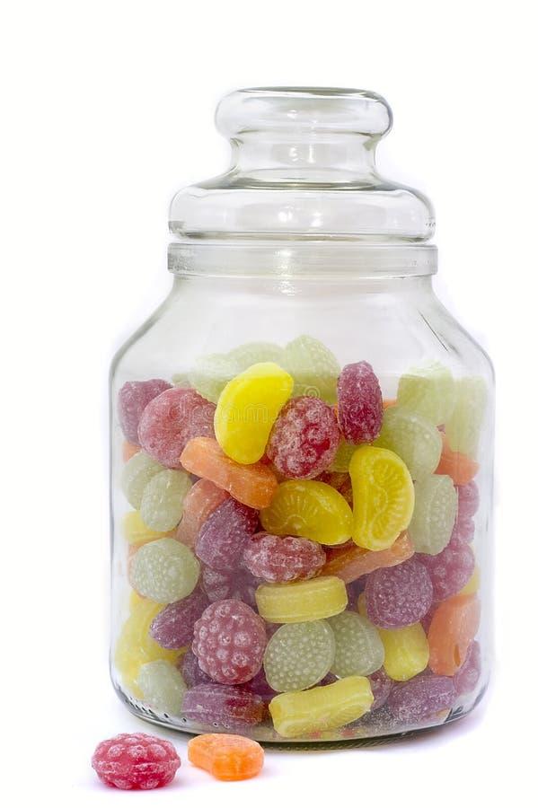 bonbons πολύχρωμο δοχείο γυα&lamb στοκ εικόνες με δικαίωμα ελεύθερης χρήσης