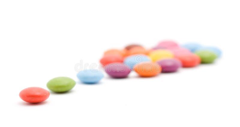 bonbons που χρωματίζονται στοκ φωτογραφίες