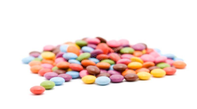 bonbons που χρωματίζονται στοκ φωτογραφία