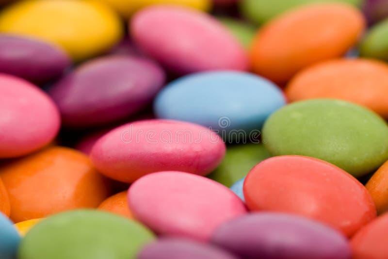 bonbons που χρωματίζονται στοκ εικόνες