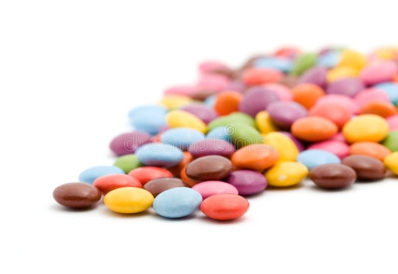 bonbons που χρωματίζονται στοκ εικόνα