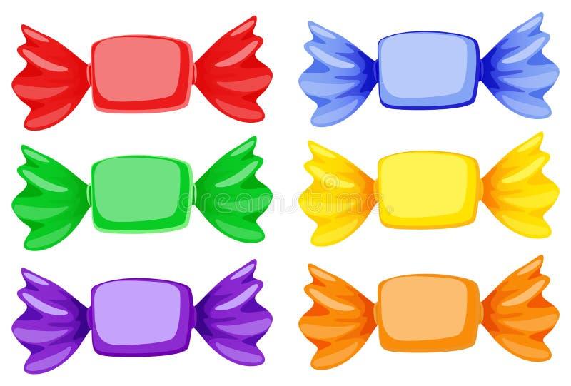 Bonbons illustration de vecteur