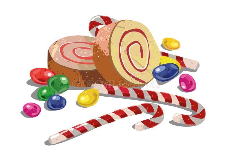 Bonbons illustration libre de droits