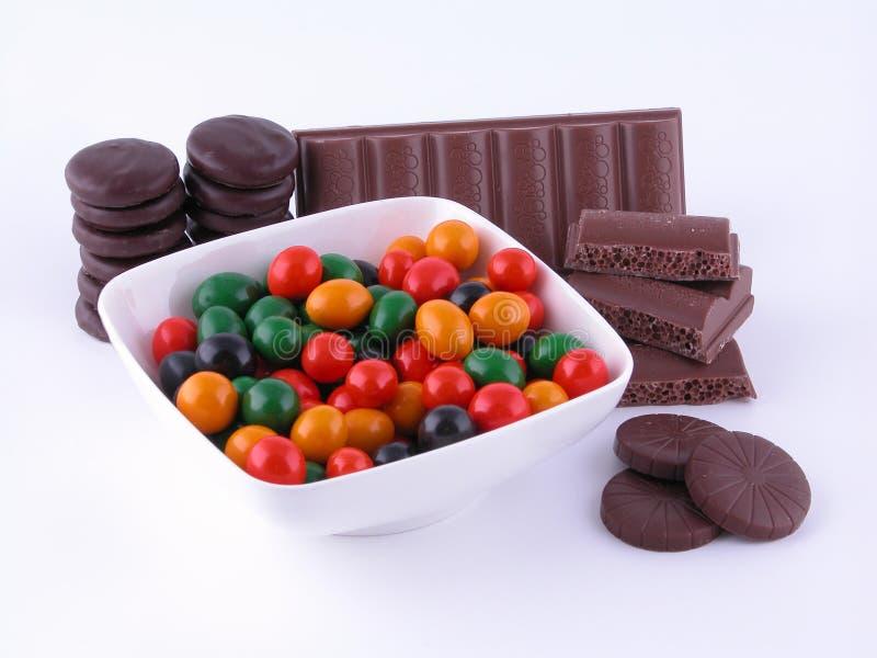 Bonbons stockbilder