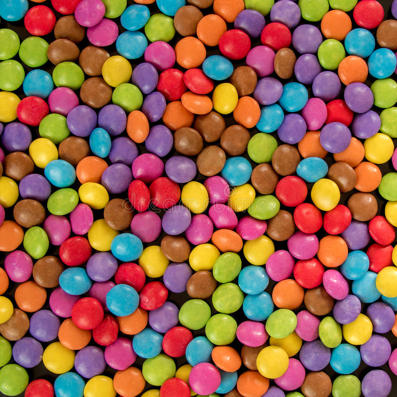 Download Bonbons colorés image stock. Image du sucrerie, rempli - 45353653