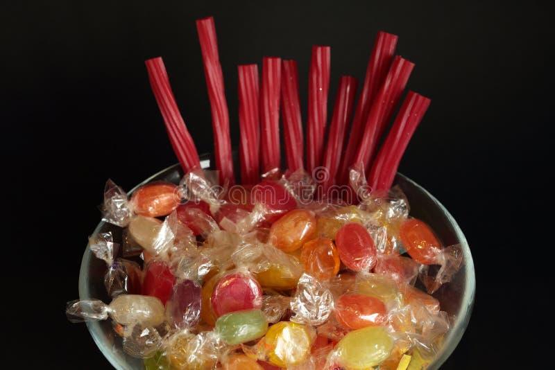 Bonbons de diverses saveurs photos stock