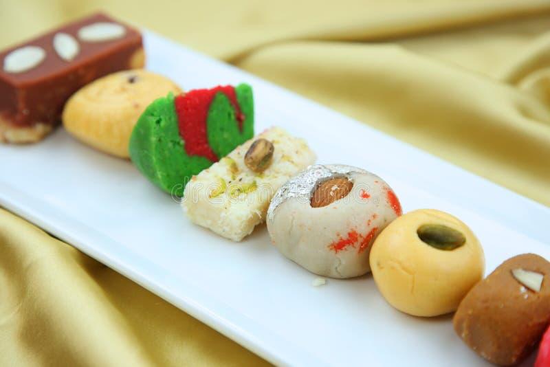 Bonbons de l'Inde photographie stock