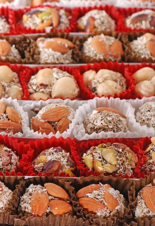 Bonbons der türkischen Freude stockfotografie