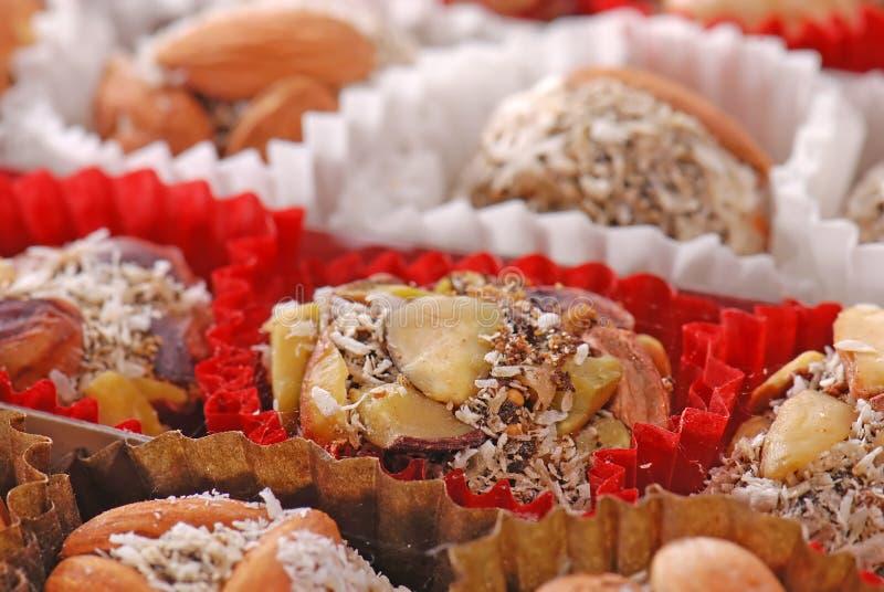 Bonbons der türkischen Freude lizenzfreie stockfotos