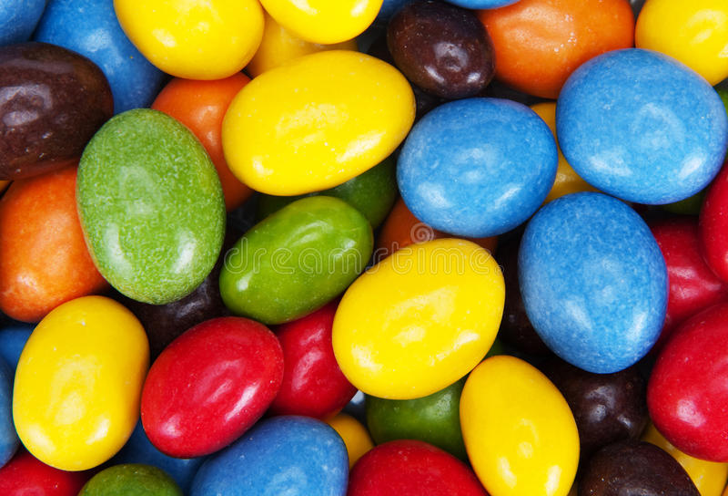 Bonbons lumineux images libres de droits