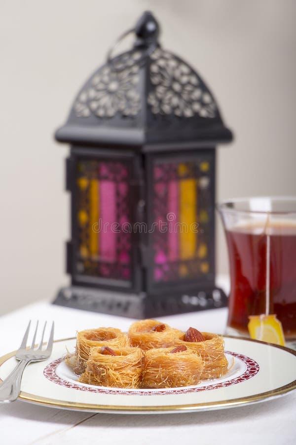 Bonbons orientaux - Ramadan Atmosphere images stock