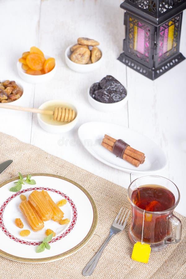 Bonbons orientaux - Ramadan Atmosphere image libre de droits