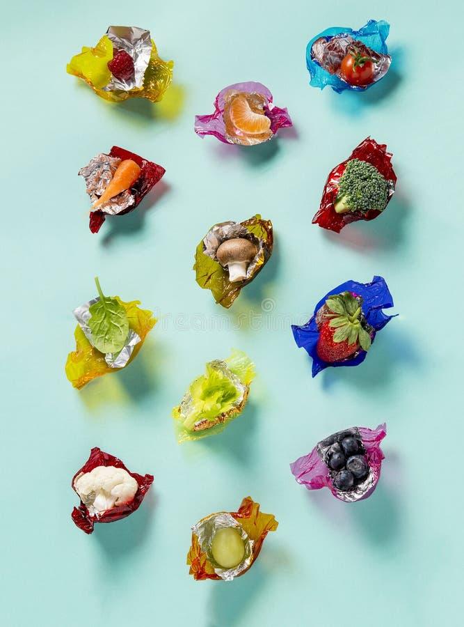 Bonbons sains photographie stock libre de droits