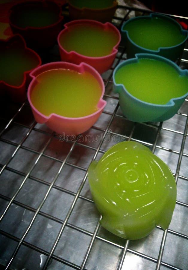 bonbons thaïlandais kanomchan photographie stock