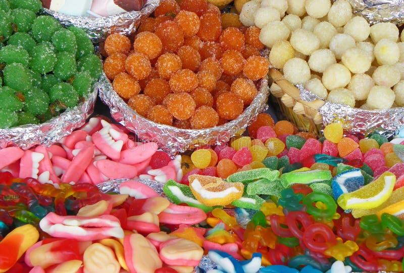Bonbons traditionnels pour la c?l?bration catholique de Corpus Christi, Equateur photo libre de droits