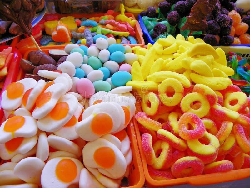 Bonbons traditionnels pour la c?l?bration catholique de Corpus Christi, Equateur photographie stock