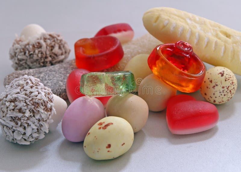Bonbons u. Süßigkeit lizenzfreie stockfotos
