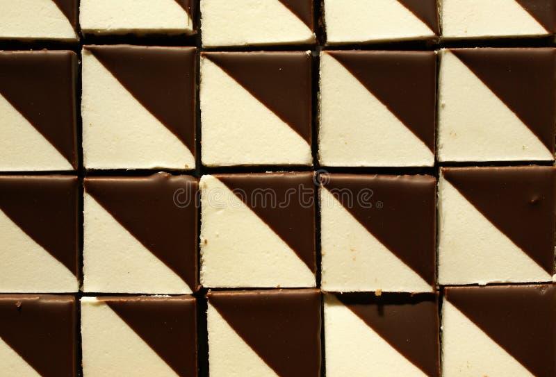 Bonbonschokoladenmuster lizenzfreie stockfotografie