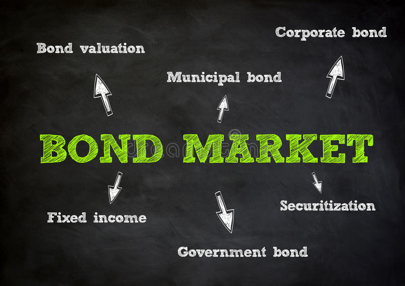 Download Bond Market concept stock illustration. Image of income - 41217472