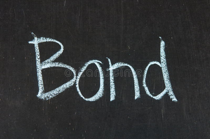 Download BOND Words Stock Photos - Image: 27920033