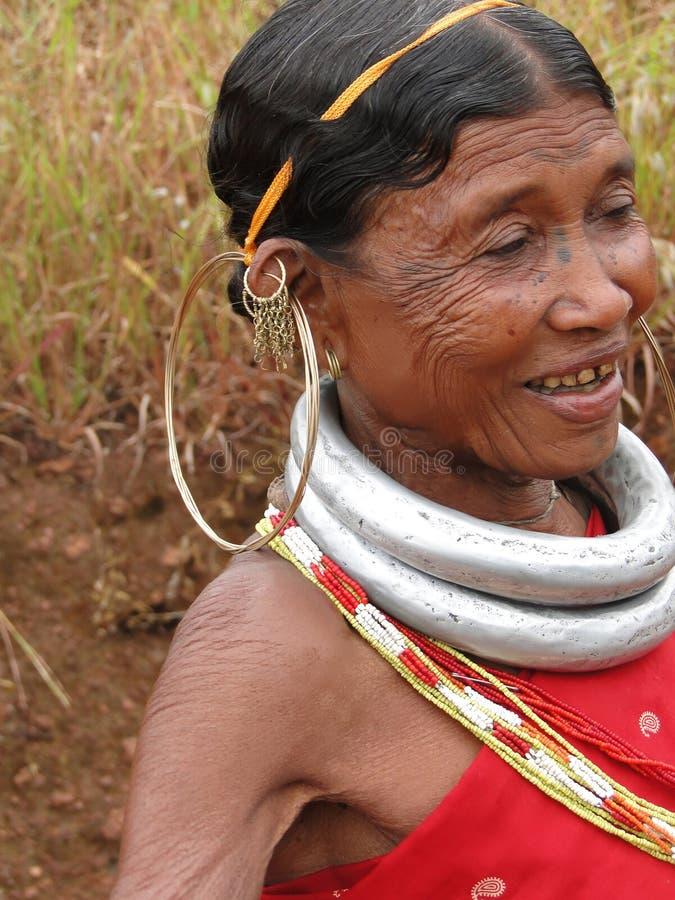 Bonda Tribal Woman Editorial Photography
