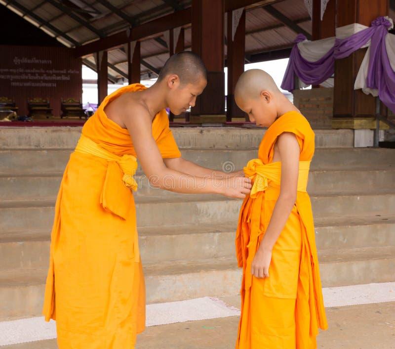 Bondade do principiante budista foto de stock