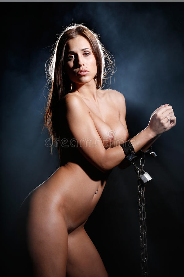 Worth Models in chain bondage made hard!