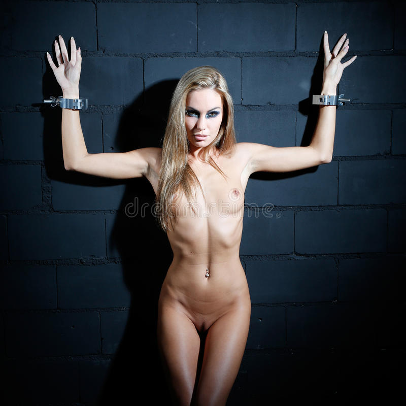 Bondage Style Naked Woman Stock Image Image Of Girl -8921