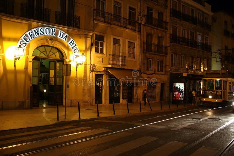 Bonde do vermelho de Lisboa fotografia de stock royalty free