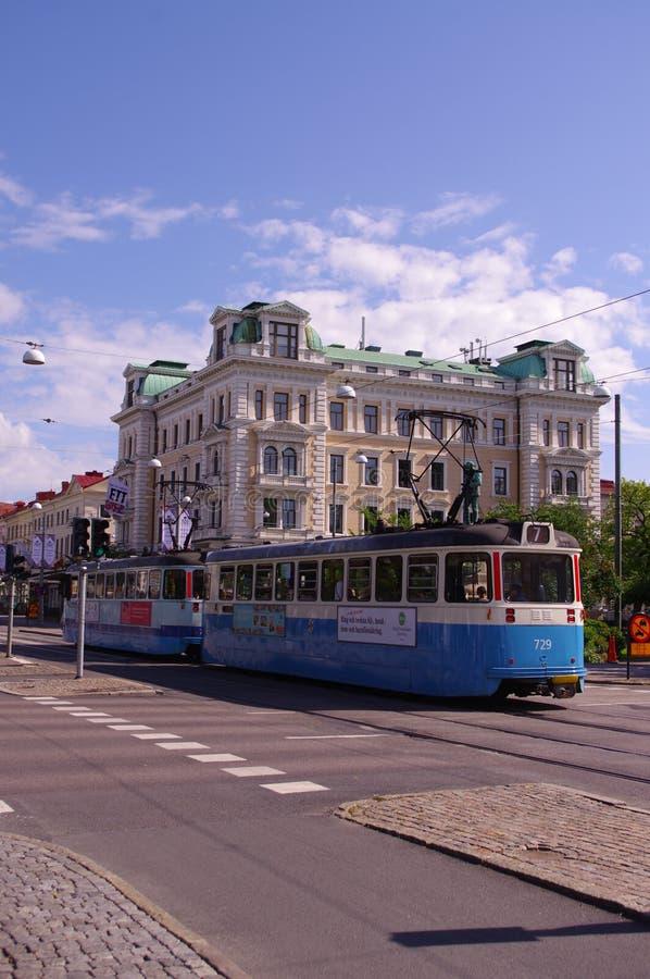Bonde em Gothernburg imagem de stock