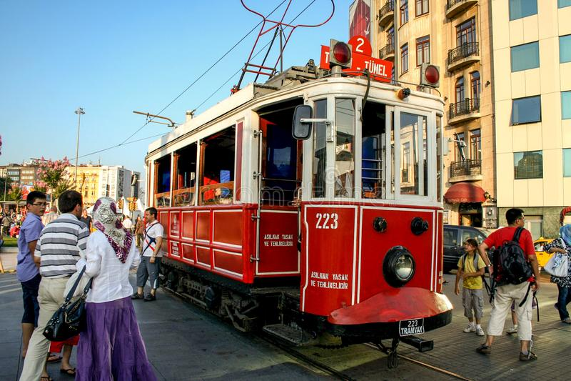 Bonde em Istambul imagem de stock royalty free