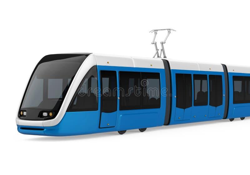 Bonde-trem isolado ilustração royalty free