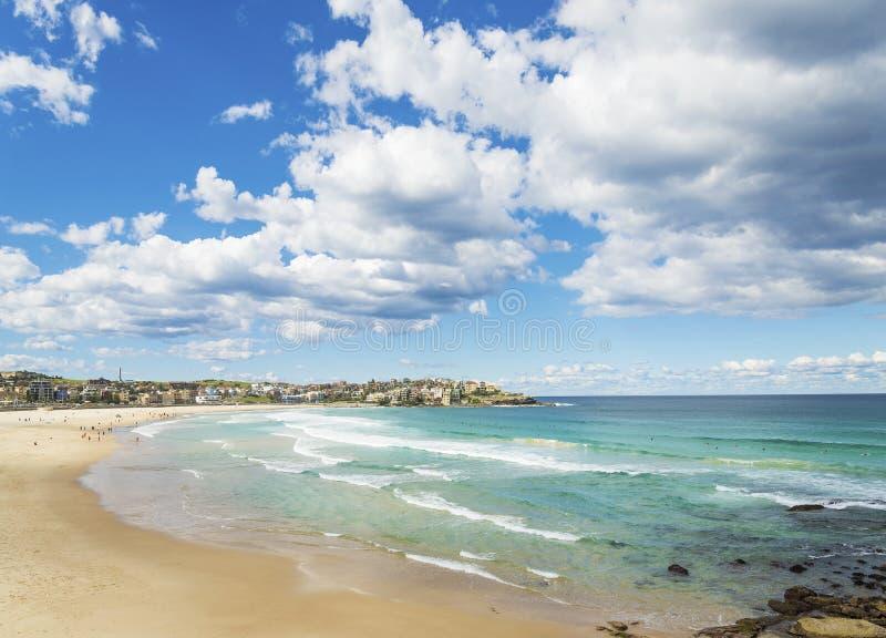 Bondi海滩在悉尼澳大利亚 免版税库存照片